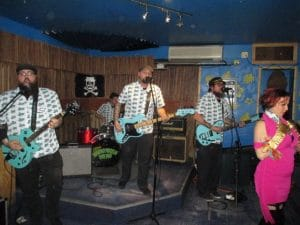 Franks and Deans 300x225 - Crazy Mary March Residency: Every Sunday in March at Otto's Shrunken Head