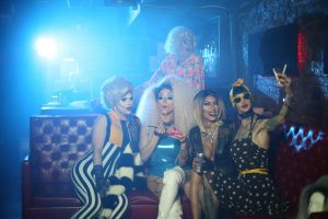 Drag Queens 300x200 - Crazy Mary Video Shoot for Wrong Place at the Wrong Time
